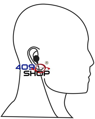 4-004S 單線高質 PTT 按制耳機