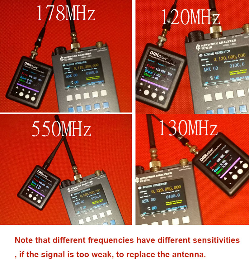 SF-401 frequency
