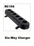 baofeng UV-5R black battery six-way charger