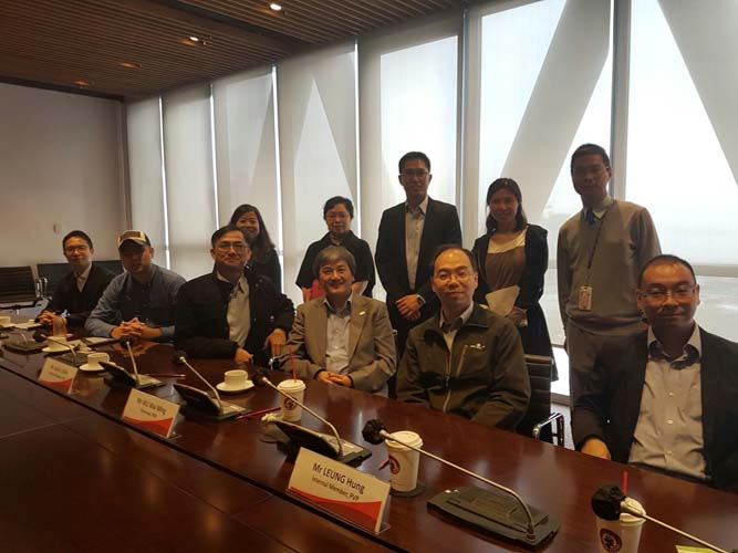 Mr.Chan representative HKTTECC and VTC Programme Validation meeting