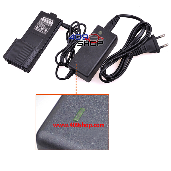 1 x BAOFENG 3800 BATTERY + Li-ion Charger for UV-5R