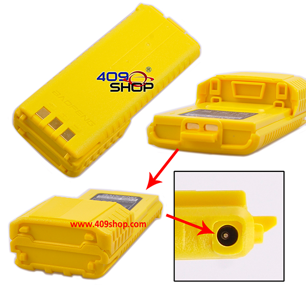 (Yellow) Battery FOR BAOFENG UV-5R WACCOM UV-5R