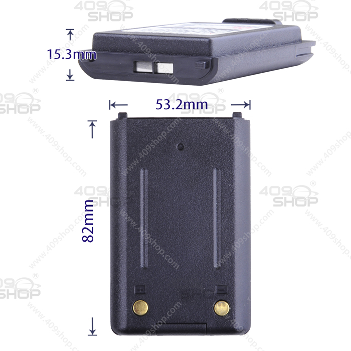 7.4V 1400mAh LI-ION Battery For BAOJIE BJ-UV88