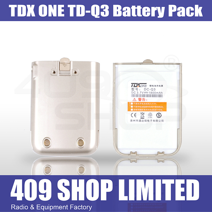 TDXONE TD-Q3 Mini Radio 1800mAh Battery Pack (GOLD)