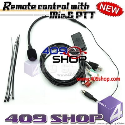 Remote control with Mic and PTT for motorola GM300, GM3188