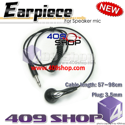 Earpiece for speaker/mic