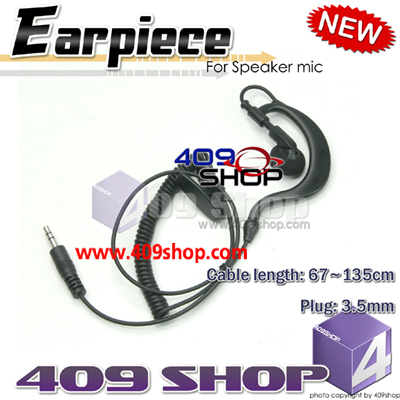 3.5mm Earphone for Speaker mic