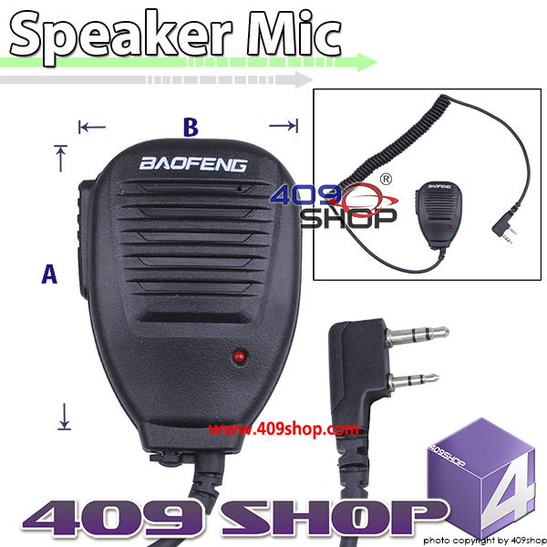 Speaker Microphone FOR BAOFENG KENWOOD