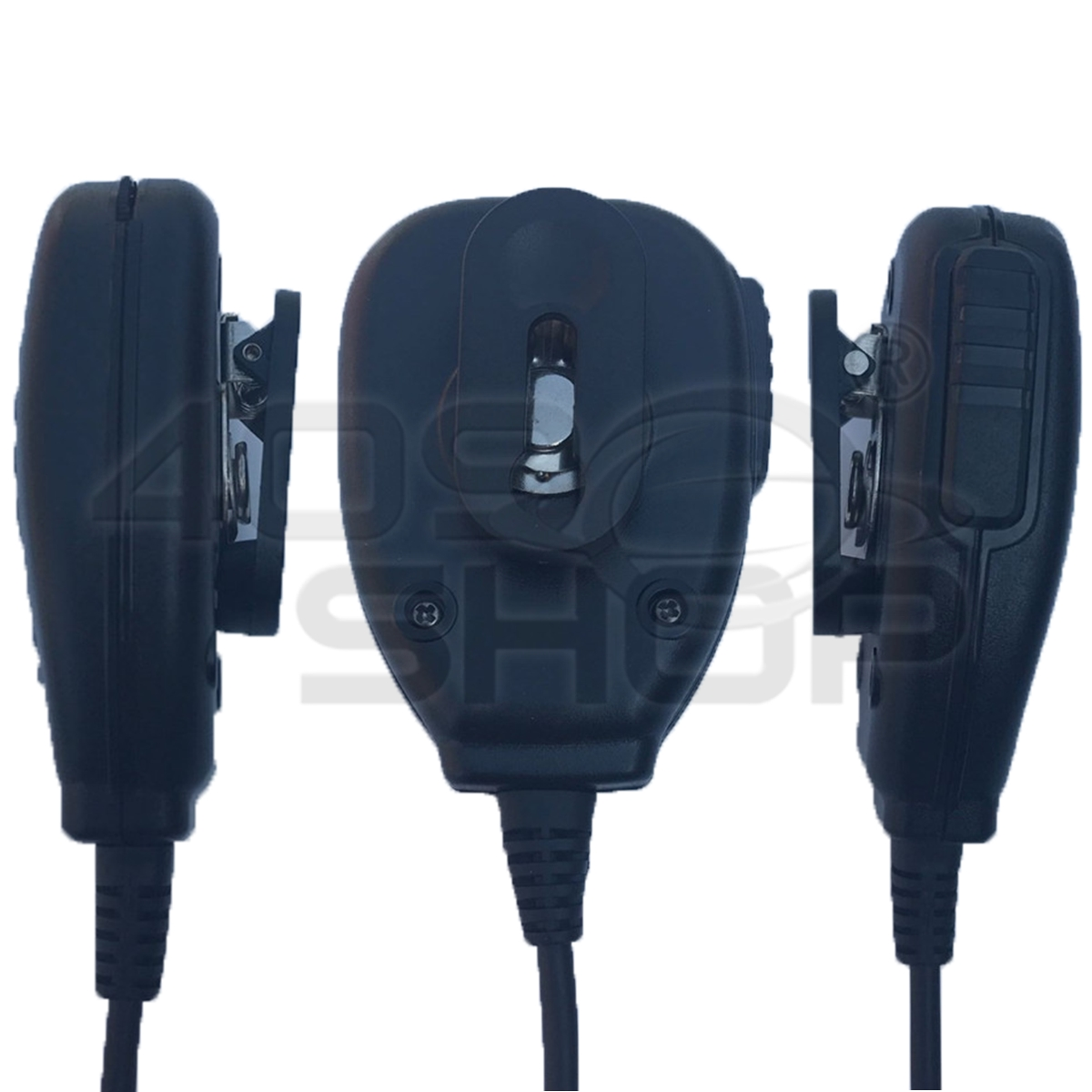 JIYKR PTT Speaker Microphone FOR KENWOOD BAOFENG walkie talkie