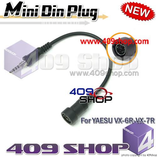 Mini Din Plug for YAESU VX-6,VX-7,VX-177,VX-170..