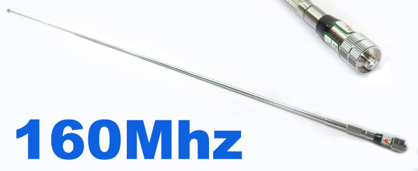 Model No.5-013-160 SMA-female VHF 160MHZ TELESCOPIC Antenna