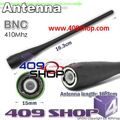 Antenna BNC 410MHz