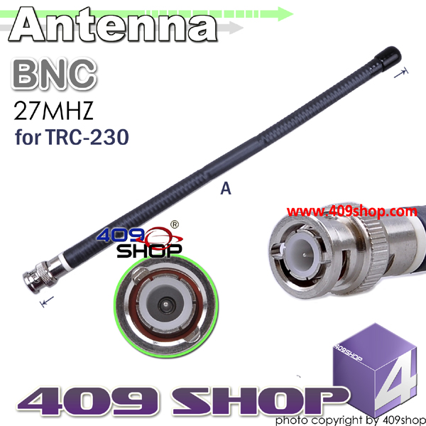 SURECOM ANTENNA BNC 27MHz for TRC-230