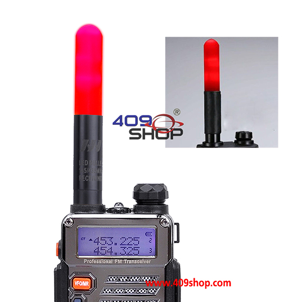 HH-508S 144/430MHz RED LED Stubby Handeld Antenna VHF/UHF MOTOROLA