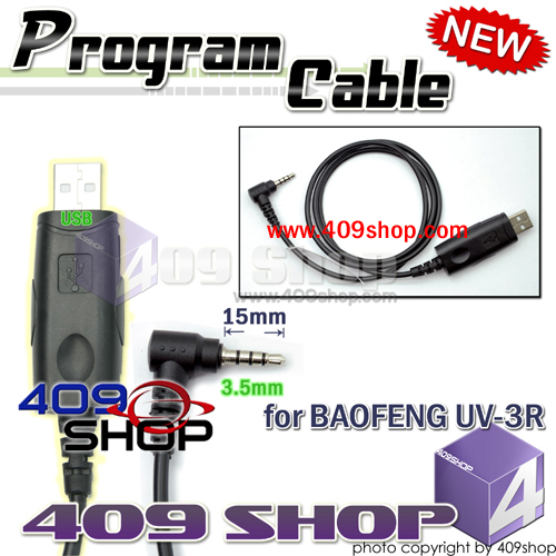 USB Prog Cable for BAOFENG UV-3R