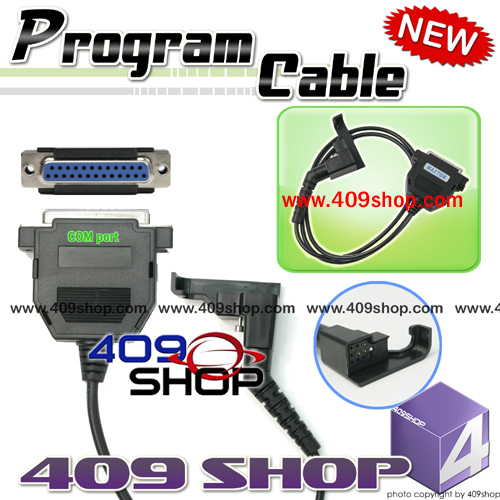 Programming Cable adaptor  for Motorola  HT-600 MT1000 P200