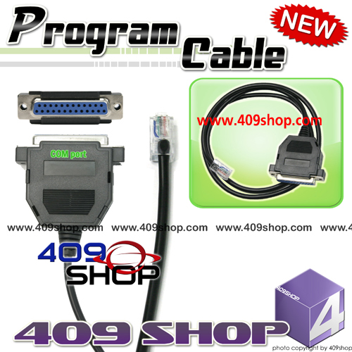 Programming Cable adaptor  for Motorola  GM900 MCS2000 MCX2000
