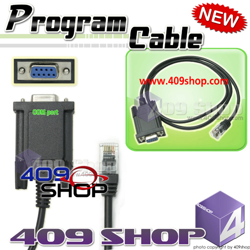 Com port Prog Cable for YAESU