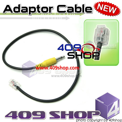 Adaptor for Prog Cable RJ45 6 PIN