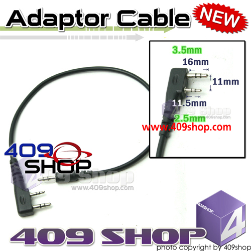Adaptor for Prog Cable K Plug