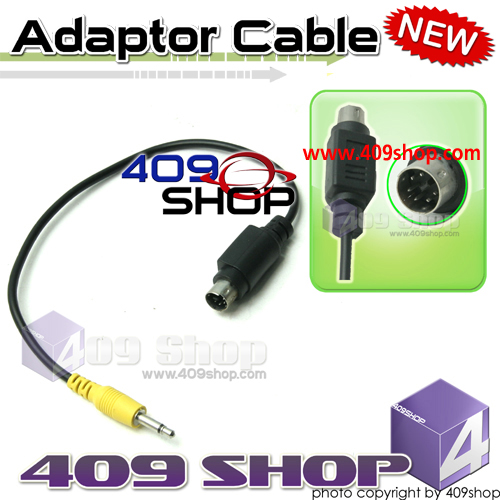 Adaptor for Prog Cable Mini Din 6 Pin