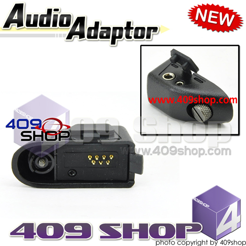 Adaptor for Motorola GP328plus to Conect 2-pin plug option