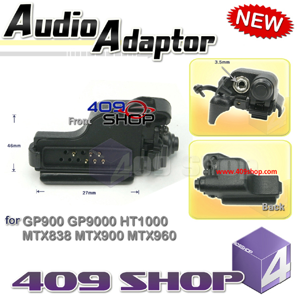 OEM BDN6676B: Black Audio Adapter 3.5mm jack