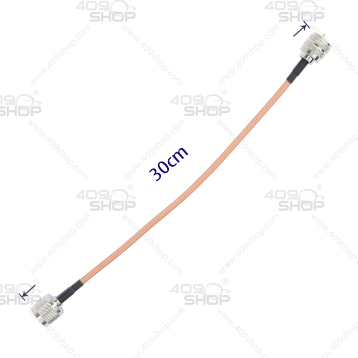 RG142 N-Male to PL259 30CM Adaptor Cable