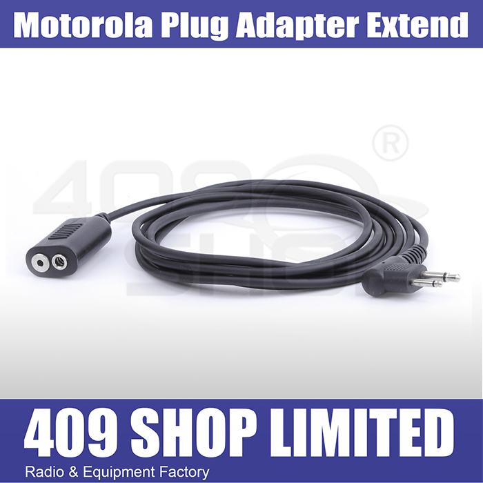 MOTOROLA Plug Adapter Extend 2 Meter for MOTOROLA/HYT Radio