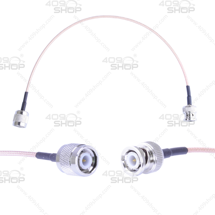 BNC Male to TNC Male 31.5cm Adaptor Cable
