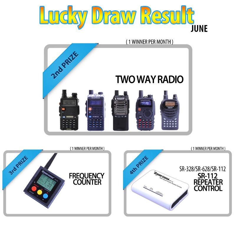 409 SHOP LTD Lucky Draw