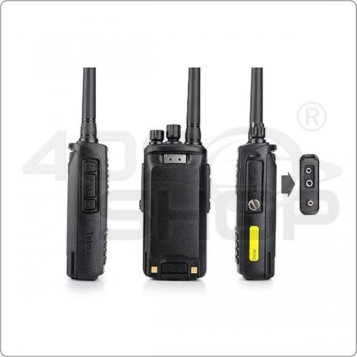 TYT MD-390 IP67 Waterproof Handheld Transceiver Two Way Radio DMR Digital Walkie