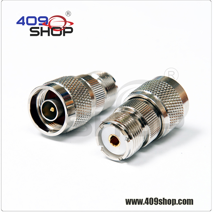 S053 N male TO UHF SO239  Adaptor For YAESU ICOM Mobile