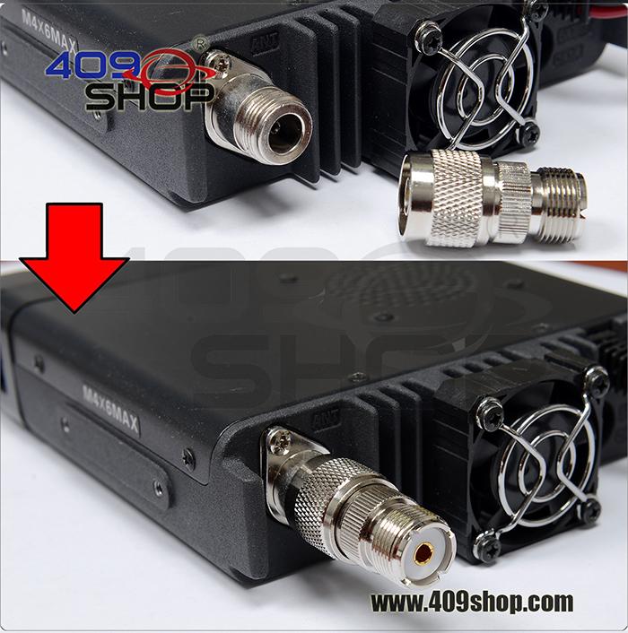 S053 N male TO UHF SO239  Adaptor For YAESU ICOM Mobile