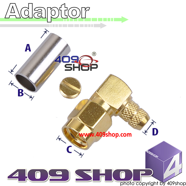 RF Coaxial Connector SMA-J3 adaptor