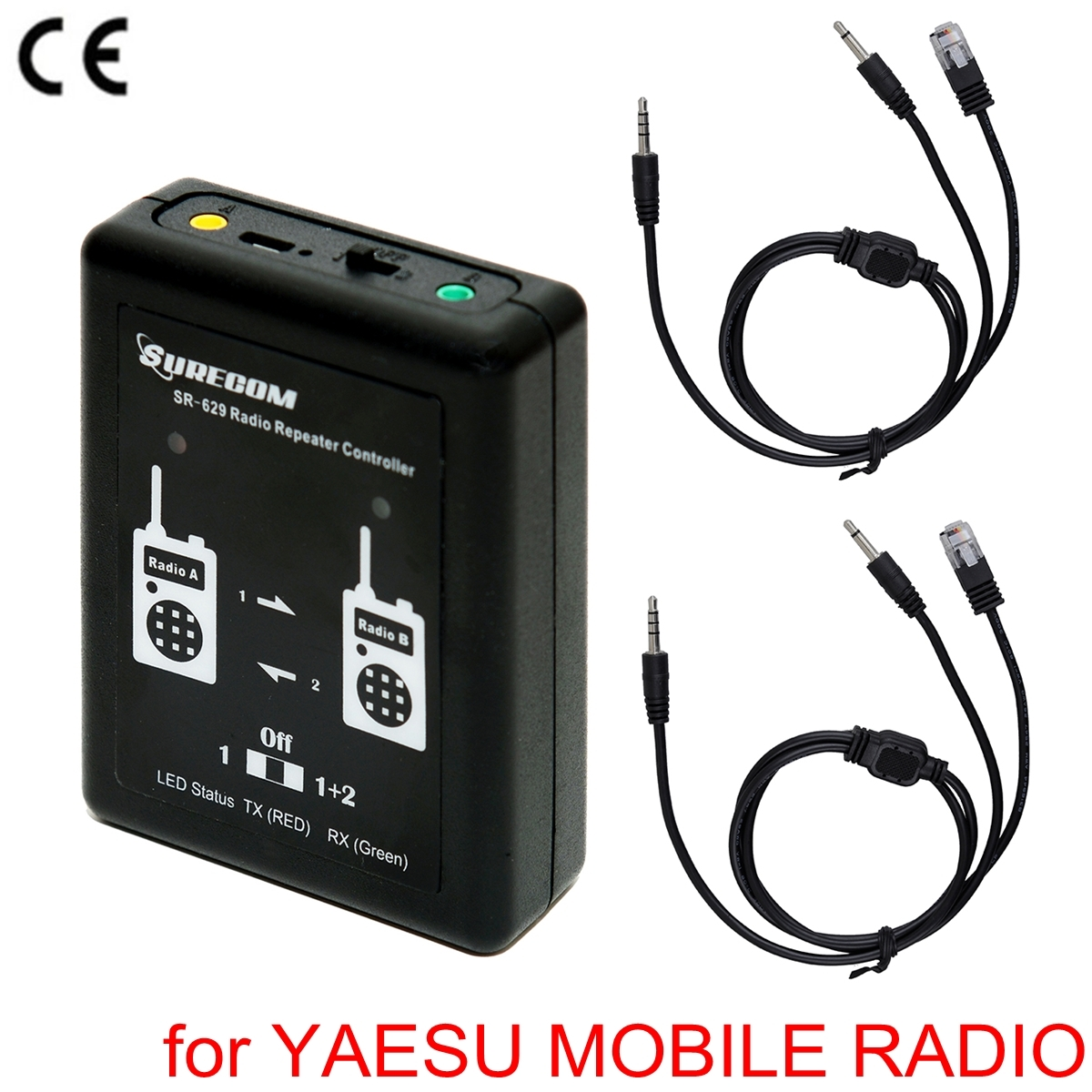 SURECOM SR-629 2 in 1 Duplex Repeater Controller For YAESU FT-2800 FT-8900 RADIO