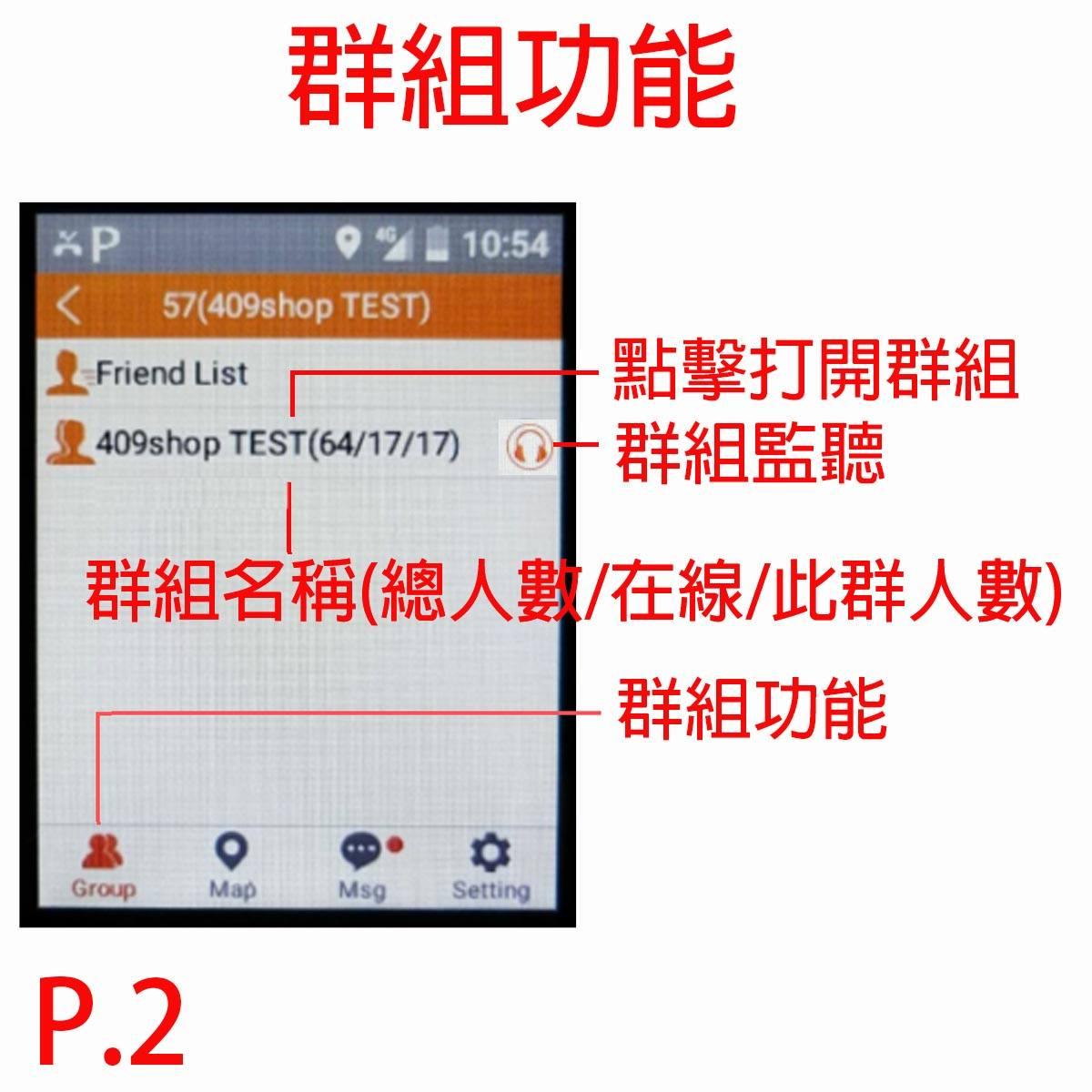 T320+409PTT service