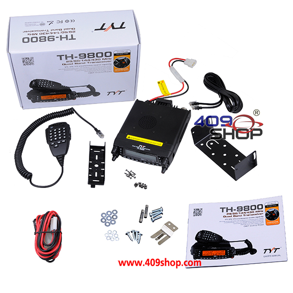 TYT TH-9800 TH9800 QUAD BAND 29/50/144/430MHZ TRANSCEIVER