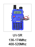 baofeng UV-5R blue