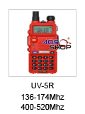 baofeng UV-5R red