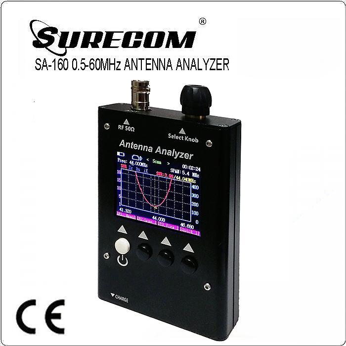SURECOM SA160 0.3-60MHz Colour Graphic Antenna Analyzer