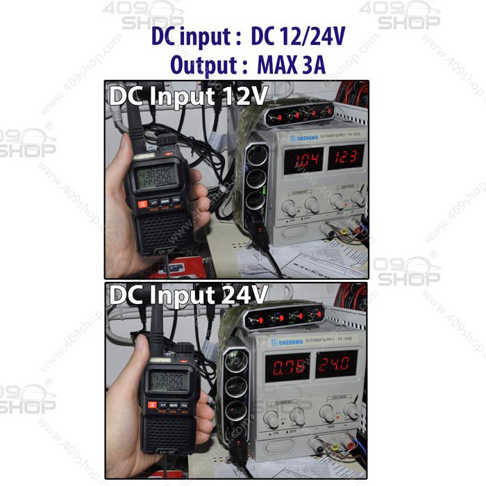 Car Battery Eliminator for BAOFENG UV-3RPLUS