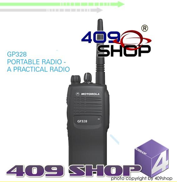 MOTOROLA GP328 UHF 403-470Mhz Radio