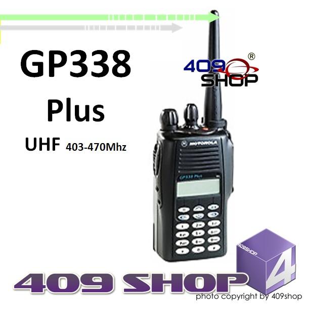 Motorola GP338 Plus UHF 403-470Mhz Portable Transceiver