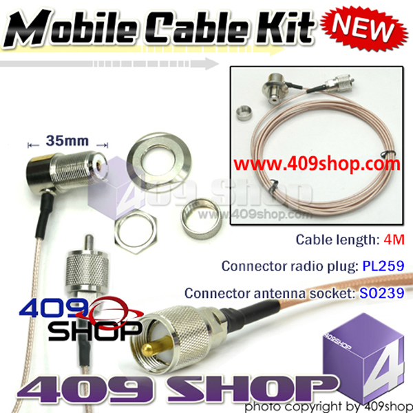High Quality extend CABLE RG174 for mobile radio