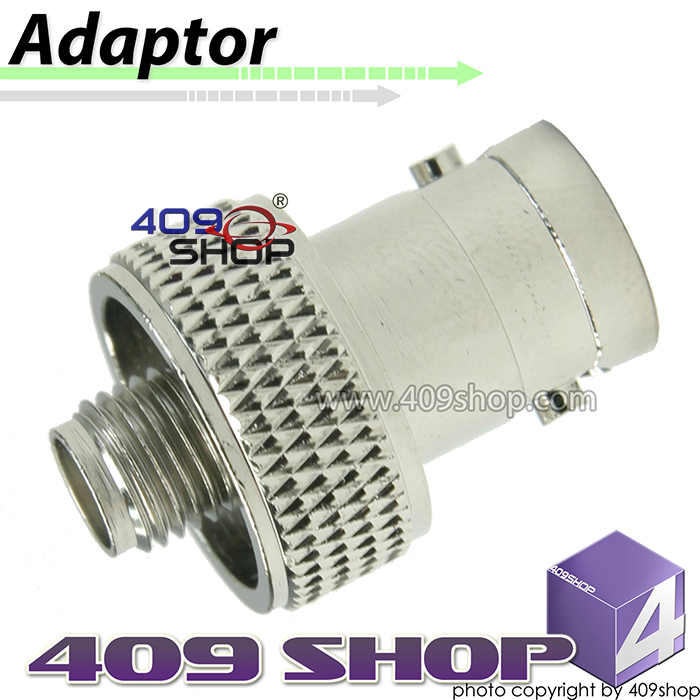 SMA - female to BNC- female adaptor