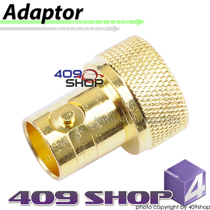 SMA - male to BNC - female adaptor