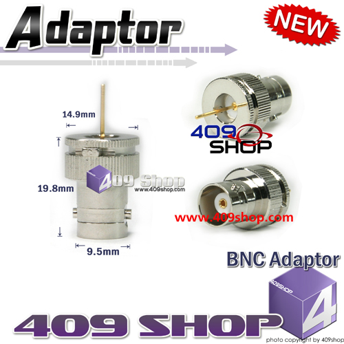 BNC adaptor for radio