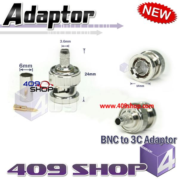 BNC to 3C Adaptor