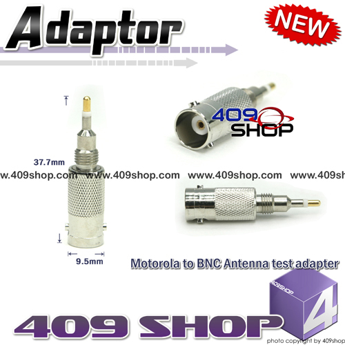 BNC adaptor for Motorola GP328 GP300 GP340 GP328